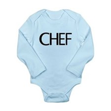 Chef Long Sleeve Infant Bodysuit