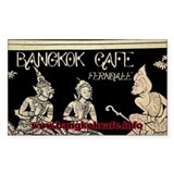Bangkok Cafe Ferndale Rectangle Decal