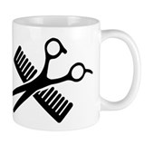 Comb & Scissors Small Mug