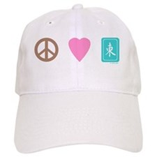 Peace Love Mahjong Baseball Cap
