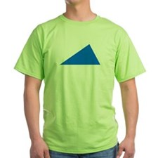 Blue triangle T-Shirt