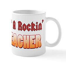 Property Of A Rockin Music Teacher Small Mug