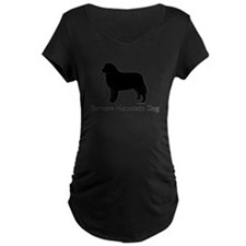Bernese Mtn Dog Silhouette T-Shirt