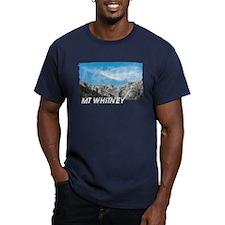Men's Fitted Mt Whitney 14505 T-Shirt (dark)