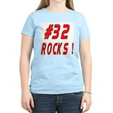 32 Rocks ! Women's Pink T-Shirt