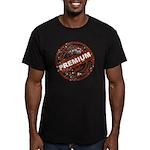 Premium Quality Stamp Men's Fitted T-Shirt (dark)