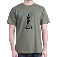 Black King Chess Mate T-Shirt