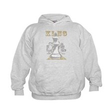 White King Chess Mate Hoodie