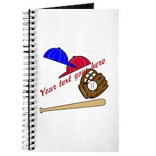 Personalized Baseball Gear Journal