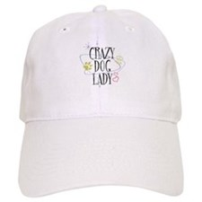 Crazy Dog Lady Baseball Cap