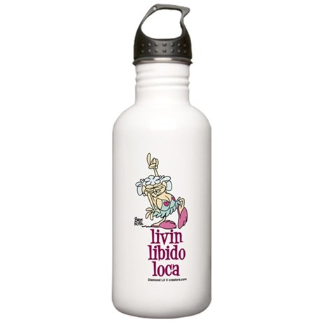 Livin' Libido Loca Stainless Water Bottle 1.0L