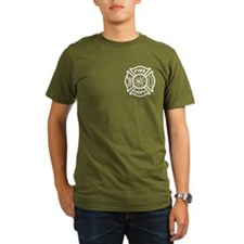 Fire Department / Fire Rescue Logo T-Shirt