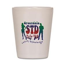 Greendale STD Fair Shot Glass