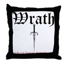 BDB LogoThrow Pillow - Wrath