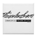 Thunder Bird Tile Coaster
