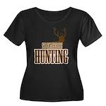 Big buck hunter Women's Plus Size Scoop Neck Dark