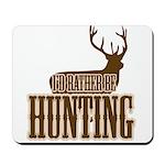 Big buck hunter Mousepad