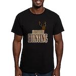 Big buck hunter Men's Fitted T-Shirt (dark)