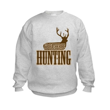 Big buck hunter Kids Sweatshirt