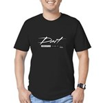 Dart Men's Fitted T-Shirt (dark)