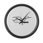 Dart Large Wall Clock