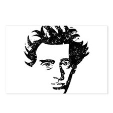 Søren Aabye Kierkegaard Postcards (Package of 8)