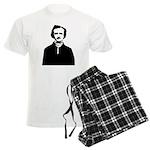 Edgar Allan Poe Men's Light Pajamas