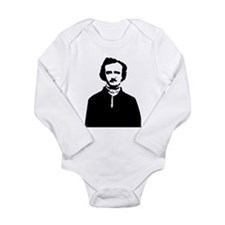 Edgar Allan Poe Long Sleeve Infant Bodysuit
