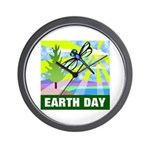 Earthday Wall Clock