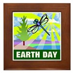 Earthday Framed Tile