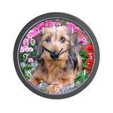 Doxie 1 Wall Clock