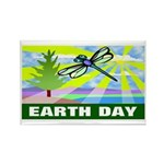 Earthday Rectangle Magnet