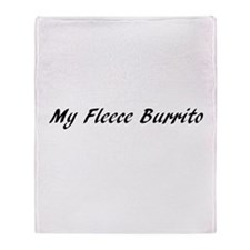 My Fleece Burrito (Throw Blanket)