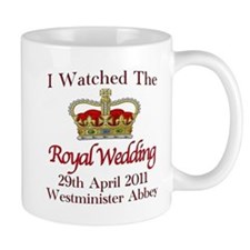 I Watched The Royal Wedding Mug