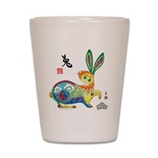 Moongate Year of the Rabbit Shot Glass