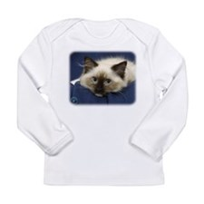 Ragdoll Cat 9W082D-020 Long Sleeve Infant T-Shirt