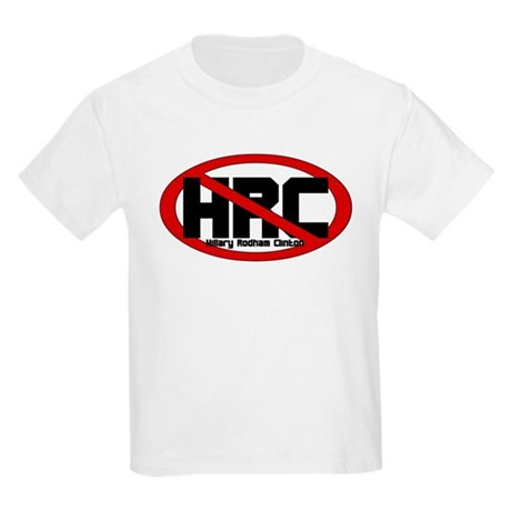 Anti Hillary Rodham Clinton Kids T-Shirt