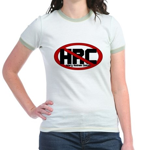 Anti Hillary Rodham Clinton Jr. Ringer T-Shirt