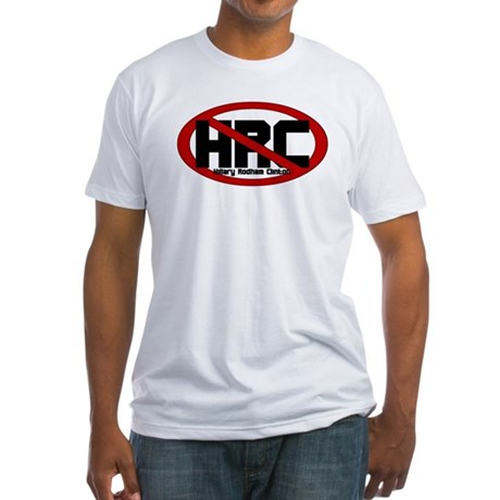 Anti Hillary Rodham Clinton Fitted T-Shirt