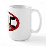 Anti Hillary Rodham Clinton Large Mug