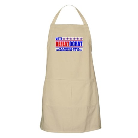 Vote Defeatocrat (Democrat) BBQ Apron