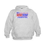Vote Defeatocrat (Democrat) Kids Hoodie