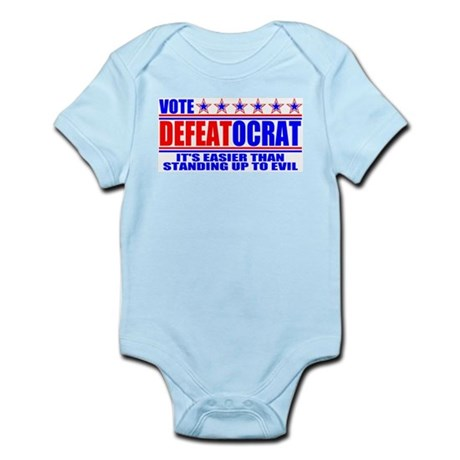 Vote Defeatocrat (Democrat) Infant Creeper