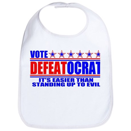 Vote Defeatocrat (Democrat) Bib