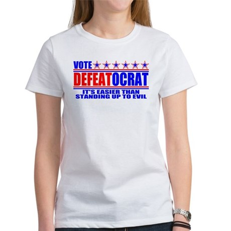 Vote Defeatocrat (Democrat) Women's T-Shirt