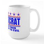 Vote Defeatocrat (Democrat) Large Mug