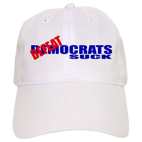 Defeatocrats Suck! Cap