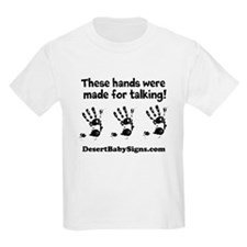 THESE HANDS with Customizable website name T-Shirt