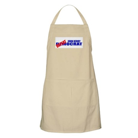John Kerry Defeatocrat BBQ Apron