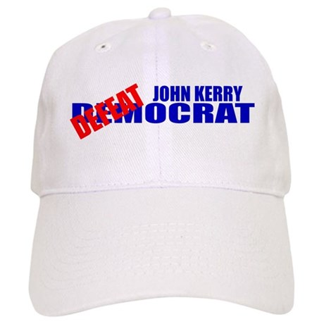 John Kerry Defeatocrat Cap